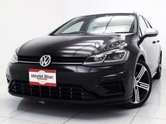 VW ゴルフRヴァリアントベースグレード 18yモデル LEDライト ディスカバーナビ