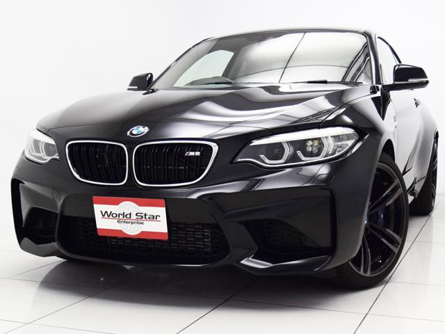 BMW M2 ベースグレード セレクトPKG 電動ガラスSR 19インチMライトアロイダブルスポークAW アダプティブLEDヘッドライト ブラックダコタレザーシート シートH カーボンインテリアトリム メモリー付きパワーシート