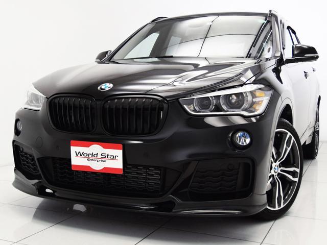 BMW xDrive 18d Mスポーツ 19インチMライトダブルスポークAW 3DデザインFリップスポイラー ブラックファブリックシート 社外シフトノブカーボンカバー LEDヘッドライト Mスポーツレザーステアリング 自動防眩ミラー 禁煙車