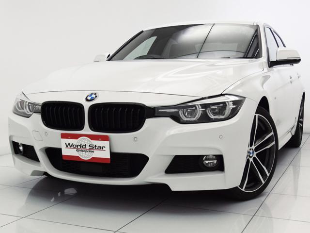 BMW 320d Mスポーツ エディションシャドー 日本全国1300台限定 19インチMライトアロイダブルスポークスタイリング704MAW ブラックダコタレザースポーツシート MエアロダイナミクスPKG ハイグロスブラックキドニーグリル Bカメラ