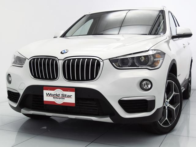 BMW xDrive 20i xライン コンフォートPKG 18インチYスポークAW LEDヘッドライト 前後パークセンサー Bカメラ ブラックハーフレザーシート 自動防眩ミラー オートマチックテールゲート スライディングリヤシート 禁煙車