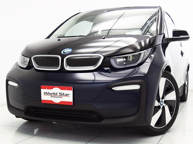 i3(BMW) アトリエ レンジ・エクステンダー装備車 19インチBMWiタービンスタイリング429AW BMWiインテリアデザインATELIR LEDヘッドライト マルチファンクションレザーステアリング アラガツグレーニュートロニッククロスシート 中古車画像