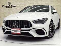 CLAクラスCLA45 S 4マチック+ AMGパフォーマンスPKG AMGアドバンストPKG パノラマSR AMGパフォーマンスエグゾーストシステム AMGライドコントロールサスペンション ヘッドアップディスプレイ レッドキャリパー 禁煙車