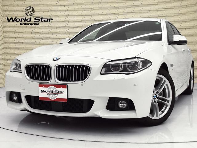 BMW 5シリーズ 523d Mスポーツ プラスPKG ファインラインアンソラジットウッドトリム MエアロダイナミクスPKG アダプティブLEDヘッドライト ACC 純正ナビ 純正TV バックカメラ レーンディパーチャーウォーニング 禁煙車