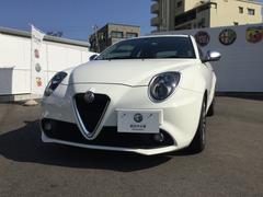 アルファロメオ ミトスーパー 2DINナビ レザーシート 新車保証継承