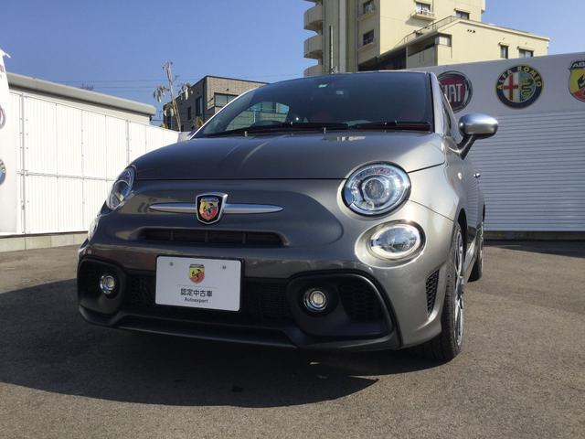 アバルト ツーリズモ 試乗車 右ハンドルオートマ 新車保証継承