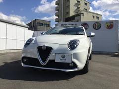 アルファロメオ ミトスーパー 2DINナビ ETC 元試乗車 新車保証継承