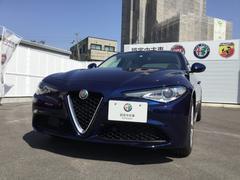 アルファロメオ ジュリアスーパー 右ハンドルAT レザーシート元試乗車 新車保証継承