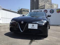 アルファロメオ ジュリアスーパー 元試乗車 プレミアムレザーシート 新車保証継承