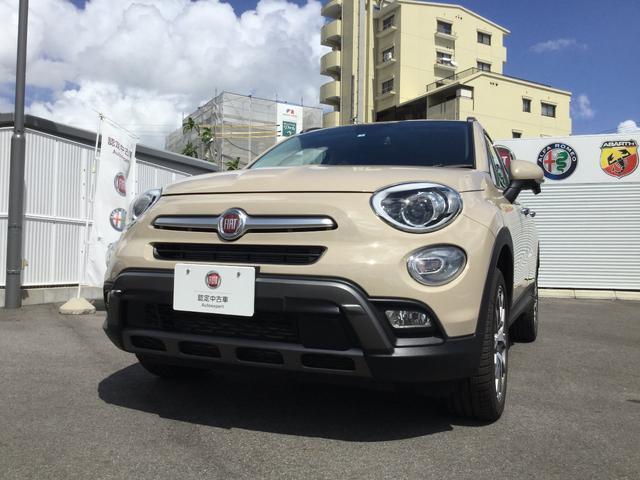 フィアット クロス プラス プラックレザーシート 元試乗車 新車保証継承