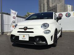 アバルト アバルト595コンペティツィオーネ 右ハンドルオートマ 新車保証継承