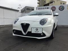 アルファロメオ ミトスーパー 2DINナビ 元試乗車 新車保証継承