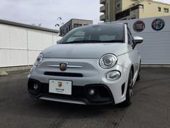 アバルト アバルト595ツーリズモ レザーシート 元試乗車 新車保証継承