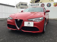 アルファロメオ ジュリアヴェローチェ 左ハンドル 4WD 元試乗車 新車保証継承