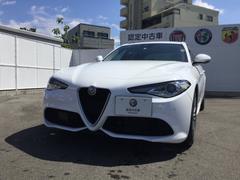 アルファロメオ ジュリアヴェローチェ 左ハンドル Q4 元試乗車 新車保証継承