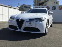 アルファロメオ ジュリアスーパー ETC 元試乗車 新車保証 認定中古車保証付