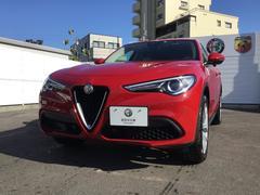 アルファロメオ ステルヴィオファーストエディション 限定車ETC 元試乗車 認定中古車付