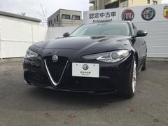 アルファロメオ ジュリアスーパー ETC プレミアムレザーシート 認定中古車保証