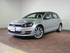 VW ゴルフTSIハイライン 認定中古車ナビ付き 前車追従機能