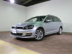 VW ゴルフヴァリアントTSIコンフォートライン 認定中古車 元デモカー