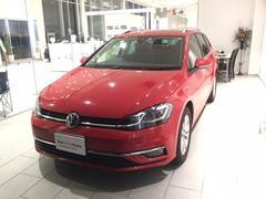 VW ゴルフヴァリアント認定中古車 ナビ付き 元デモカー 前車追従機能