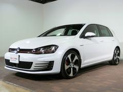 VW ゴルフGTI認定中古車ナビ・バックカメラ・ETC付き DCC パール白