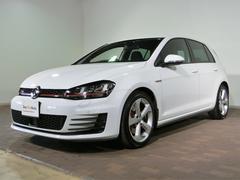 VW ゴルフGTI認定中古車8インチ純正ナビ・ETC付き