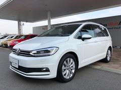 VW ゴルフトゥーランパノラマサンルーフ付 認定中古車
