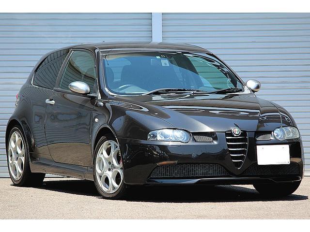 アルファロメオ GTA セレスピード V6 タイベル交換済 イモラレザー