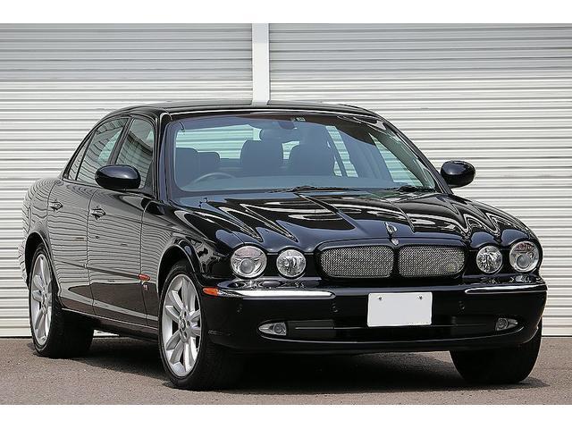 ジャガー XJR スーパーチャージド 赤&黒革 走行4万k台