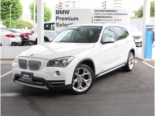 BMW sDrive 18i xライン 社外ナビゲーション付き