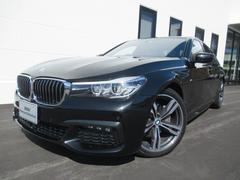 BMW740i MスポーツHDD20AW黒革SR