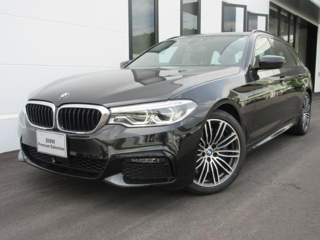 BMW 540i xDriveツーリング MスポーツSR黒革BPS