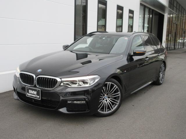 BMW 523dツーリング Mスポーツ LEDヘッドライト アクティブクルーズコントロール ステアリングアシスト ワンオーナー 禁煙車 1年保証
