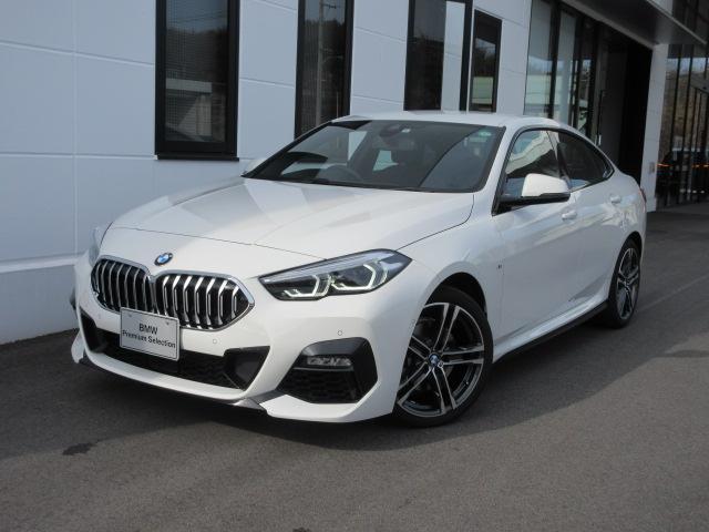 BMW 218iグランクーペ Mスポーツ LEDヘッドライト アクティブクルーズコントロール ワイヤレスチャージ 運転席電動シート デモカー 2年保証
