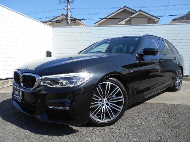 BMW 5シリーズ 530iツーリング Mスポーツ 19AW黒革パノラマガラスサンルーフドラレコ禁煙1オーナー認定中古車