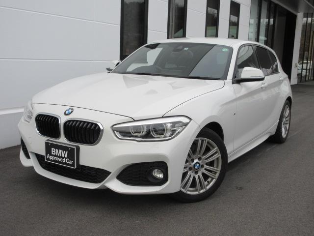 BMW 118i Mスポーツ LEDヘッドライト 17インチMアロイホイール コンフォートパッケージ パーキングサポートパッケージ ワンオーナー禁煙車 1年保証