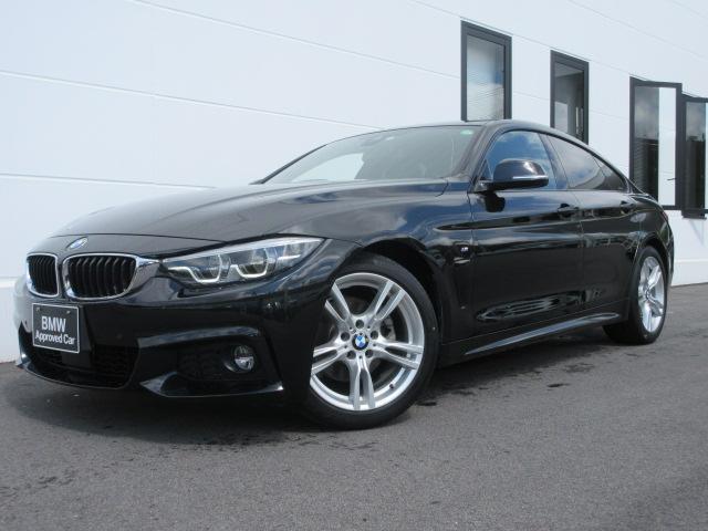 BMW 420iグランクーペ Mスポーツ LEDヘッドライト アクティブクルーズコントロール 液晶メーター 電動トランク ワンオーナー禁煙車 1年保証
