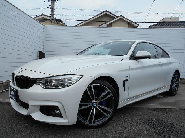 BMW 420iクーペ Mスポーツ スタイルエッジ 限定車 センサテックレザーシート シートヒーター LEDヘッドライト ウッドトリム 19インチAW ワンオーナー禁煙車 1年保証