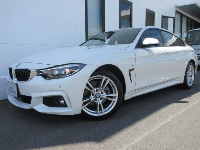 BMW 420iグランクーペ Mスポーツ Mスピリット アクティブクルーズコントロール 18インチAW 電動トランク キセノンヘッドライト 2年保証
