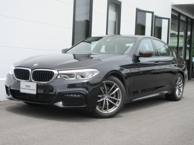 BMW 5シリーズ 523d xDrive Mスピリット LEDヘッドライト ヘッドアップディスプレイ アクティブクルーズコントロール パドルシフト バックカメラ 禁煙車 2年保証