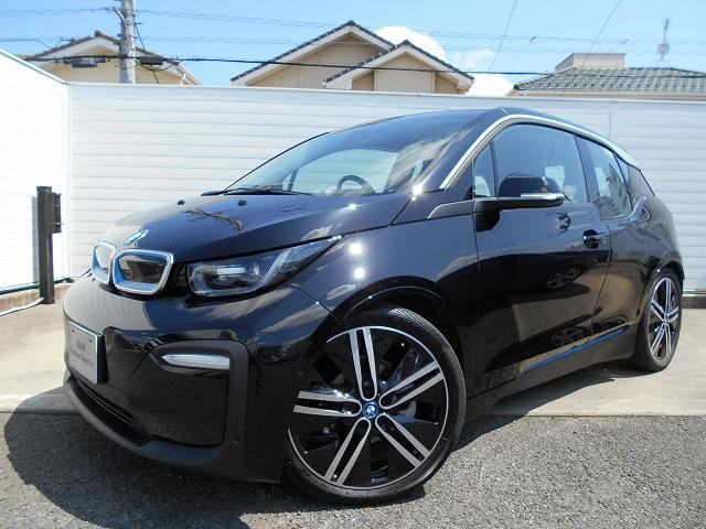 BMW i3 レンジ・エクステンダー装備車 スイート  ブラックレザーシート シートヒーター LEDヘッドライト ワイヤレスチャージ アクティブクルーズコントロール デモカー禁煙車 2年保証