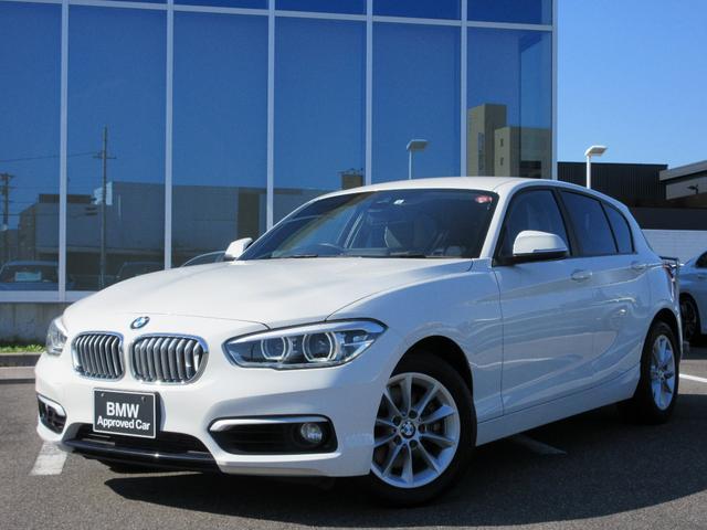 BMW 1シリーズ 118d スタイル パーキングサポートPKG バックカメラ 純正ナビ ハンズフリー 社外テレビチューナー LEDヘッドライト16インチAW 禁煙車 1年保証