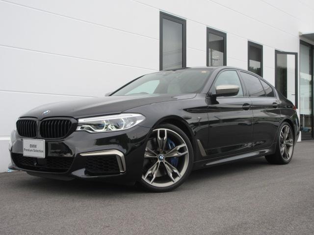 BMW M550i xDrive 全国限定55台アルティメットエディション レーザーライト 20インチAW Mシートベルト イノベーションPKG コンフォートPKG フルレザーメリノPKG 純正アラーム ワンオーナー禁煙車 2年保証