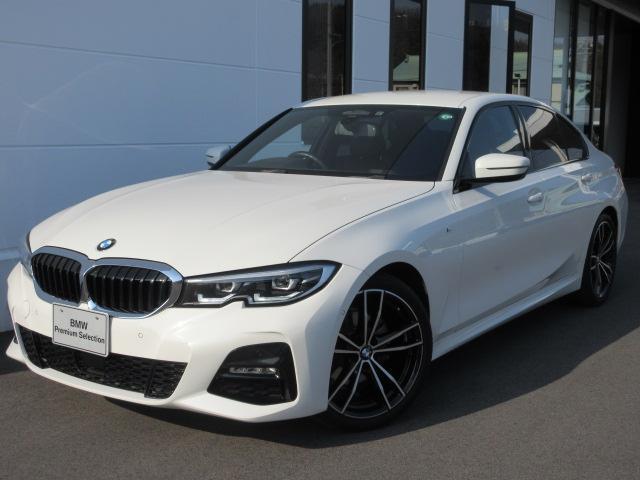 BMW 320i Mスポーツ コンフォートPKG 電動トランク LEDヘッドライト アクティブクルーズコントロー ステアリングアシスト 19インチAW 禁煙車 1年保証