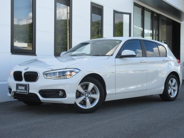 BMW 1シリーズ 118d スポーツ LEDヘッドライト 純正ナビ バックカメラ ハンズフリー 16インチAW ミラー内蔵ETC ワンオーナー禁煙車 1年保証