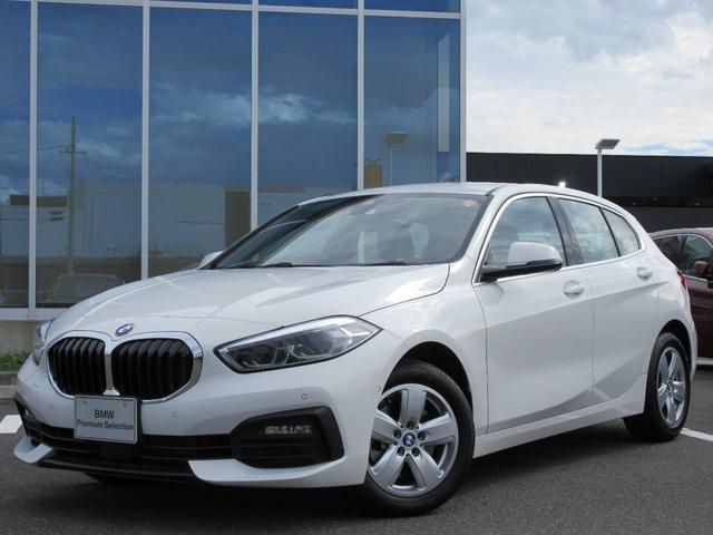 BMW 1シリーズ 118d プレイ エディションジョイ+ ナビゲーションPKG バックカメラ アクティブクルーズコントロール 純正ETC ワイヤレスチャージ コンフォートアクセス 電動トランク アンビエントライト 16インチAW デモカー禁煙車 2年保証