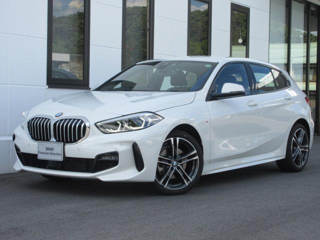 BMW 118i Mスポーツ ナビゲーションPKG コンフォートPKG アクティブクルーズコントロール バックカメラ ミラー内蔵ETC 電動トランク ワイヤレスチャージ 運転席電動シート LEDヘッドライト デモカー禁煙 2年保証