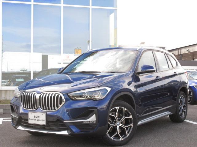 BMW X1 xDrive 18d xライン コンフォートアクセス LEDヘッドライト 電動トランク 18インチAW バックカメラ ハンズフリー デモカー 禁煙車 2年保証