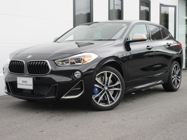 BMW M35i ブラックレザーシート シートヒーター ヘッドアップディスプレイ アクティブクルーズコントロール 社外地デジ 社外ドライブレコーダー 電動トランク 19インチAW ワンオーナー禁煙車 2年保証